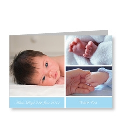 3 Baby Picture Card