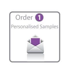 Personalised Sample Card