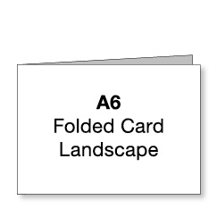 A6 Landscape Card (Images and text)