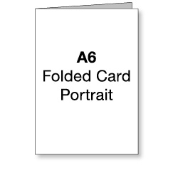 A6 Portrait Card (Images and Text)