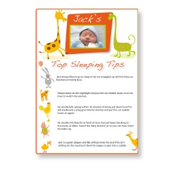 Top Sleeping Tips Sheet