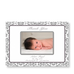 Black Pattern Baby Cards