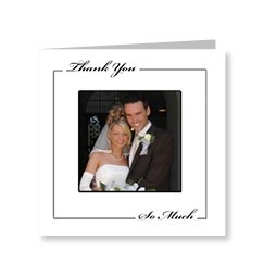 Thank You So Much Wedding Cards