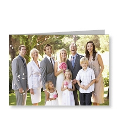 Multi Photo Wedding Card