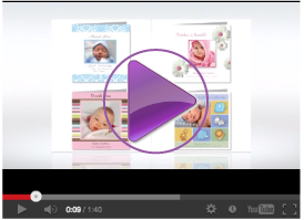 Video Cute Baby Cards